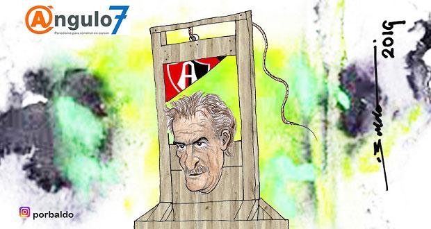 Caricatura: La Volpe ¿el siguiente cesado?