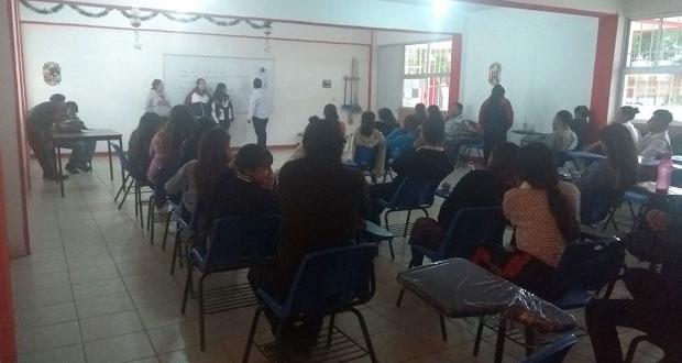 Comité de Fnerrr busca concientizar a jóvenes en normal Margarita Morán