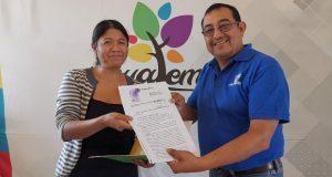 Comuna de Ahuatempan tramita corrección de 27 actas de nacimiento
