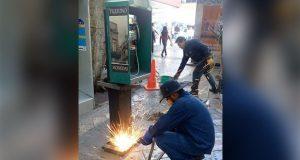 Comuna quitara 76 casetas telefónicas obsoletas del Centro Histórico