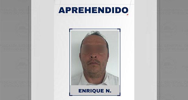 Detienen a exprofesor de Puebla capital por presunta violación
