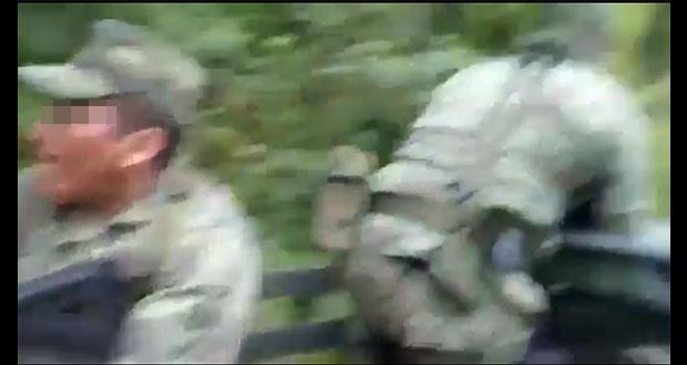 Emboscada de comando deja tres militares muertos en sierra Guerrero