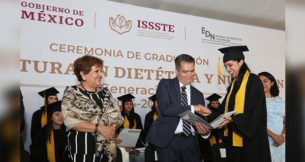 Por tercera vez, escuela de nutrición de la CDMX entre las mejores