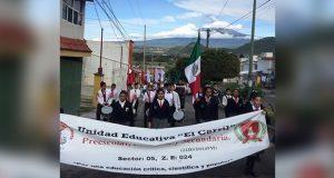 Escuelas antorchistas en Atlixco conmemoran gesta de Niños Héroes