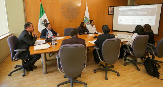 Estrena el Poder Judicial del Estado de Puebla nueva página web