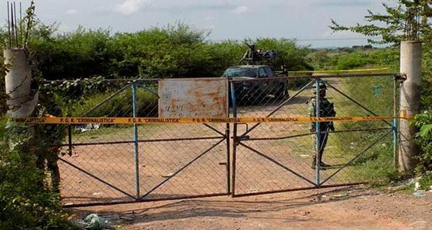Tras 4 años, FGR busca a 43 normalistas en basurero de Tepecoacuilco