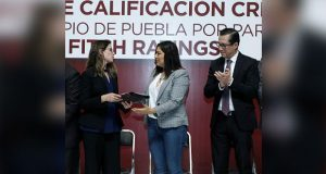 Fitch Ratings eleva puntuación crediticia del ayuntamiento de Puebla