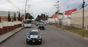 Guardia Nacional y Cuautlancingo vigilan zona industrial y colonias