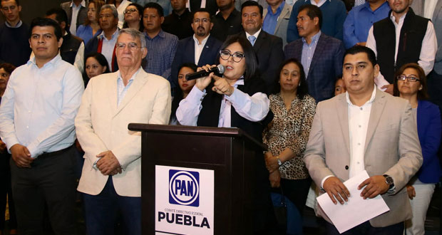 Huerta hace mutis sobre Saturnino como líder del PAN en Tecamachalco