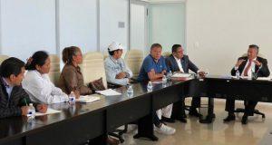 Infraestructura apoyará a alcaldes de Mixteca para concretar obras