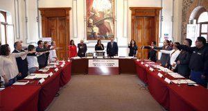 Instalan comité que vigilará ética y conducta en Comuna de Puebla