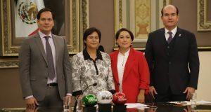 PRI y PVEM se quedan al frente de mesa directiva del Congreso