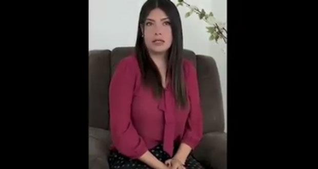 Joven que pidió bomba en el zócalo se disculpa; Interjet la suspende