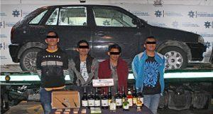 """Caen cuatro de """"Los Duyel"""", banda relacionada con robos a Oxxo"""