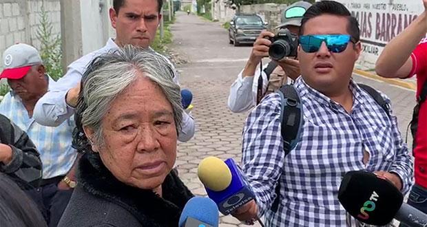 Mujer acusa que soldados asesinaron a su hijo en enfrentamiento de Acajete