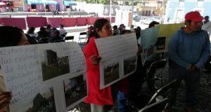 Pobladores de Malacatepec piden apoyo a Barbosa en conflicto con Proyecta