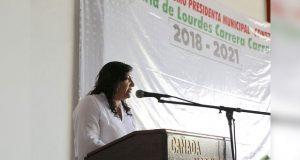 Alcaldesa de Cañada Morelos pide regresar armas a policía municipal