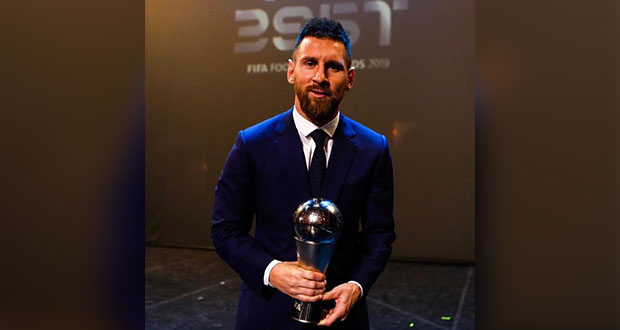 Messi gana el premio The Best al mejor jugador de la FIFA