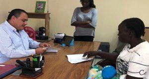 Migrante registra a hijo con nombre de AMLO y pide apoyo en Chiapas