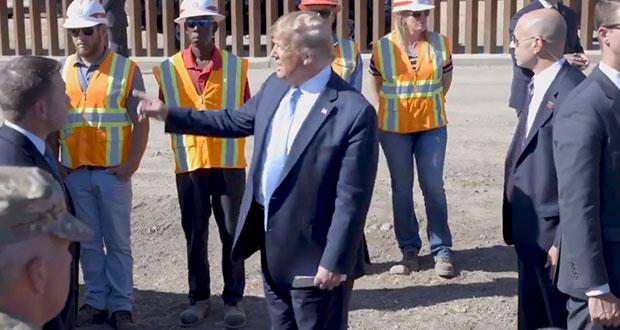 No habrá aranceles a México si continúa apoyo en la frontera: Trump
