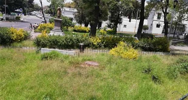 Pasto crecido en parques de CH se debe a lluvia, justifica Romano