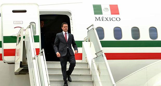 """Peña Nieto """"gastó"""" más de un millón en insumos para vuelo: AMLO"""