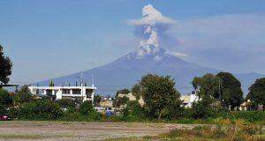 Podría caer ceniza del Popocatépetl en 14 municipios poblanos: PC