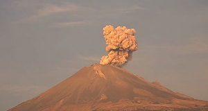 Popocatépetl registra en pocas horas 3 explosiones y 2 exhalaciones