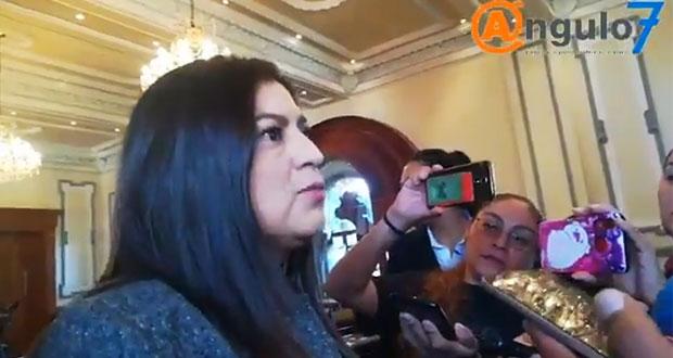 Primer informe de gobierno de Claudia Rivera podría ser en Palacio Municipal
