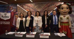 Promocionan a nivel nacional celebración de fiestas patrias en Puebla