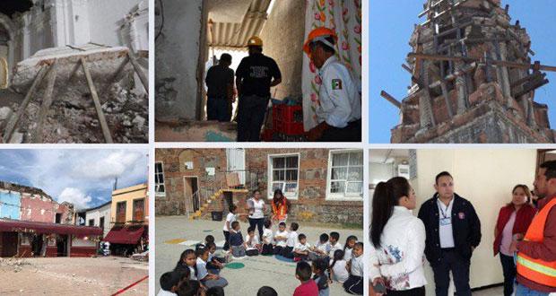 Con 790 instituciones, Protección Civil alista macrosimulacro el 19-S. Foto: Especial