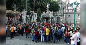 En Puebla capital, más de 4 mil personas se suman a Macrosimulacro