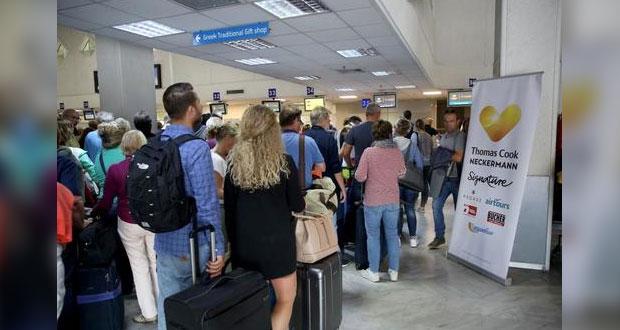 Quiebra de agencia de viajes Thomas Cook afecta a 600 mil turistas
