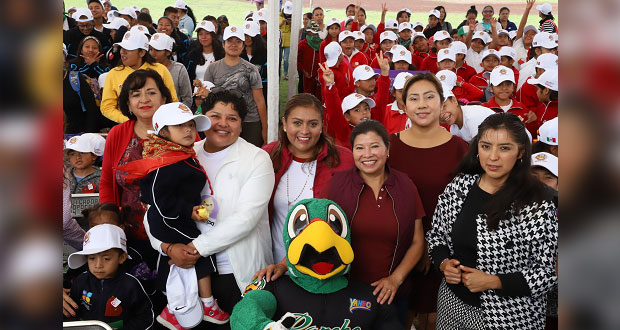 Con rally, San Andrés Cholula promueve deporte entre alumnos y padres