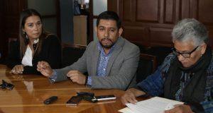 Regidores piden a Rivera cambios en la Ssptm por malos resultados