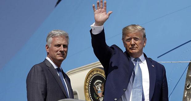 Robert O'Brien es el nuevo asesor de Seguridad Nacional de Trump