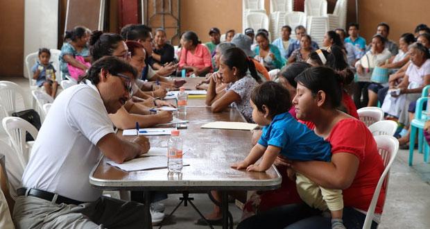 Secretaría de Cultura atiende en jornada los artesanos de Cohuecan