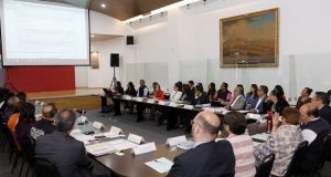 Secretarios se reúnen por alerta de género; 8 octubre, informe