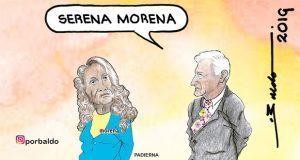 Serena Morena: AMLO a Padierna