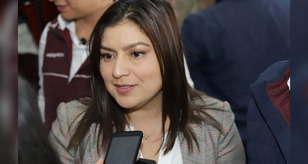 Sin recursos extra para obras públicas, reconoce Claudia Rivera
