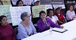 Sindicalizadas acusan a Leobardo Rodríguez de ser vocero de Gonzalo Juárez