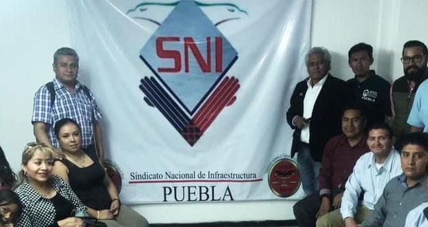 Acusan de fraude a Sindicato Nacional de Infraestructura en Puebla