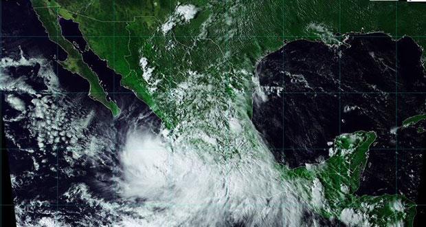 """Tormenta """"Narda"""" afecta 6 estados; en Puebla, seguirán lluvias"""