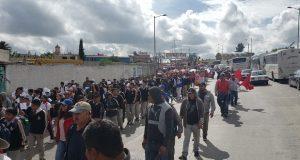 Vecinos de Amozoc exigen a Comuna agua, luz y atención a escuelas