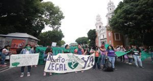 Poblanas se unen a marcha nacional para exigir despenalización del aborto