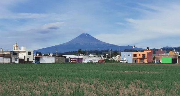 Disminuye actividad explosiva del Popocatépetl: PC