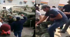 Suspenden clases en siete escuelas de Acajete tras agresión a militares