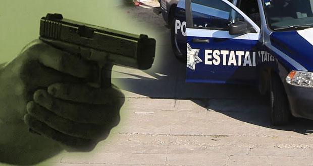 Abren fuego contra policías en Xochimehuacán; hay un civil muerto