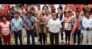 En Tlapanalá, antorchistas alistan 45º aniversario de organización
