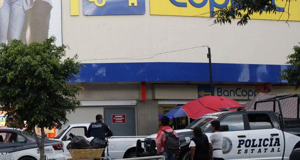 Vuelven a robar Coppel de Xilotzingo, es la segunda vez en 2 semanas